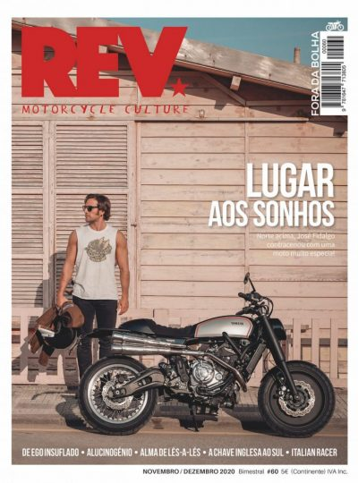 Revista REV60 capa José Fidalgo